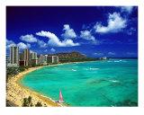 Waikiki Beach Diamond Head