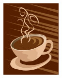 Stylized Coffee Cup Illustration