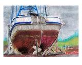 063009 Dry Docked Fishing Boat Alaska