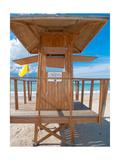 Lifeguard Hut on the Beach  Carolina  Puerto