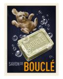 Savon De Boucle - Poodle Reproduction d'art par Chad Otis