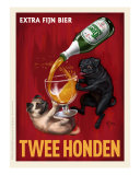Twee Honden - Pugs