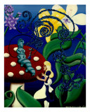 The Blue Caterpillar (Wonderland)