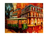 New Orleans Night Streetcar