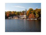 View of the Princeton Crew Boathouse  NJ