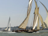 Mariette under Sail  Solent Race  British Classic Yacht Club Regatta  Cowes Classic Week  2008