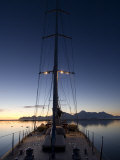 Sy &quot;Adele&quot;  180 Foot Hoek Design  Anchored at Night Time in Yankee Harbour  Antarctica  2007
