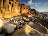 Porth Nanven  Nr St Just  Cornwall  UK