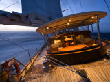 Sy &quot;Adele&quot;  180 Foot Hoek Design  Evening Sailing Off the Coast of Brazil  February 2007