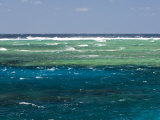 Seascape at Ribbon Reefs  Great Barrier Reef  Queensland  Australia