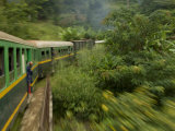 Train Travelling Between Manakara and Fianarantsoa  Madagascar