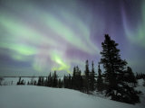 Northern Lights Northwest Territories  March 2008  Canada