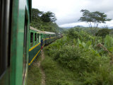 Train Travelling Betwen Manakara and Fianarantsoa  Madagascar