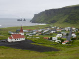 Town of Vik  South Coast of Iceland