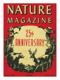 Nature Magazine - 25th Anniversary Issue  View of Wildlife and Birds  c1948