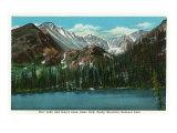 Estes Park  Colorado - View of Bear Lake and Long's Peak  c1938
