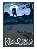 Kings Canyon Nat'l Park - Bigfoot - Lp Poster  c2009