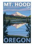 Reflection Lake - Mt Hood  Oregon  c2009