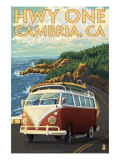 Cambria  California - Highway One Coast  c2009
