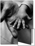 Adult and Child Hands