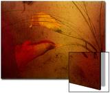Arums Acrylique par Katherine Sanderson
