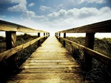 Boardwalk Leading to the Sky