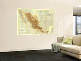 1911 Mexico Map