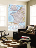 1989 France Map