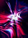Abstract Red  Blue and Purple