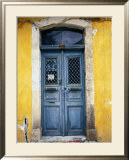 Doorway in Old Venetian Quarter  Hania  Crete  Greece