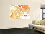 1980 Mideast in Turmoil Map