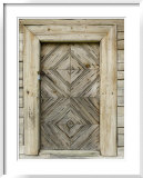 Door Detail of a Traditional Lithuanian Farmstead from the Zemaitija Region  Rumsiskes  Lithuania