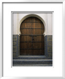 Door in the Quartier Des Andalous  Medina  Fes El Bali  Fez  Morocco  North Africa  Africa