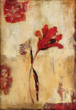 Rojo Floral I