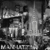 Manhattan in Black and White III