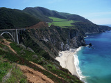 Bixby Bridge on Highway 1  Big Sur  CA