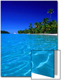Tropical Lagoon Waters  Aitutaki  Southern Group  Cook Islands