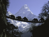 Bridge on Ama Dablam  Nepal