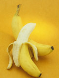 Peeled and Unpeeled Bananas (Musa Accuminata)  Cavendish Variety