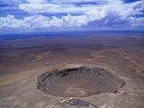Meteor Crater  Winslow  Arizona  USA