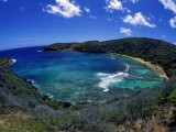 Hanauma Bay Is One of Oahu&#39;s Most Popular Snorkeling Sites  Hawaii  USA