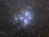 M45  the Seven Sisters or Pleiades