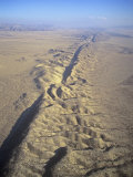 San Andreas Fault and Rift Zone  Carrizo Plain  California  USA