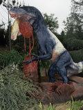 Restoration of Utahraptor  Early Cretaceous  125 MYA  Utah Dinosaur