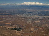 Aerial View of Las Vegas Nevada  USA