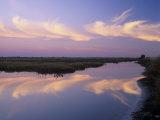 Sunrise  Merritt Island National Wildlife Refuge  Florida  USA