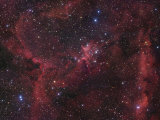 The Region of Nebula Ic1805