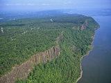 Palisades Along the Hudson River  New Jersey  USA