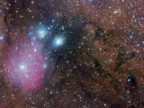 Ngc 6589  Ngc 6590  Ic 1283  Ic 1284  and Ic 4700 Complex Nebulosity in Sagittarius