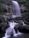 Rainbow Falls  Great Smoky Mountains National Park  Tennessee  USA